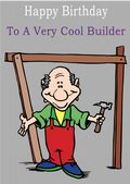 Builder - Greeting Card